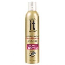 Freeze it Color Protection Hair Spray 24 Hour Hold - 24 H lak na vlasy s ochranou farby,  250 ml