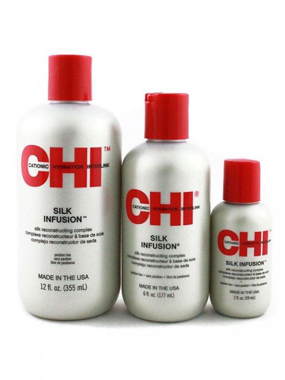 CHI SILK INFUSION - komplex na regeneráciu vlasov 562db6d9b2f