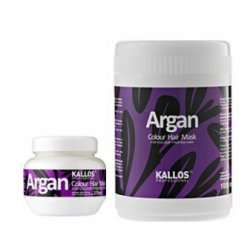 Kallos ARGAN Colour hair mask - maska na farbené vlasy