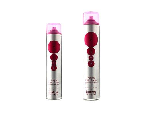 Kallos kjmn Extra strong hair spray - extra silne tužiaci lak na vlasy e01abf60b6c