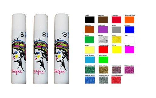 Toufar Hair Glitter spray - farebný a glitrový lak na vlasy 7f313924cb2