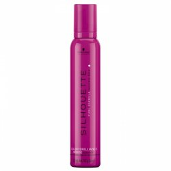 Schwarzkopf Silhouette Color Brilliance Mousse super hold - silná fixačná pena s leskom, 500 ml