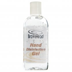 Bravehead disinfection hand gel - dezinfekčný gél na ruky, 100 ml