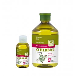 O´HERBAL For Coloured hair - šampón na farbené vlasy