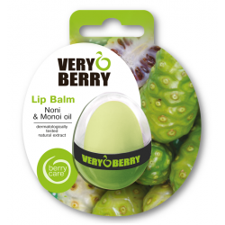Very Berry Noni & Monoi oil - balzám na pery, 11,5 g