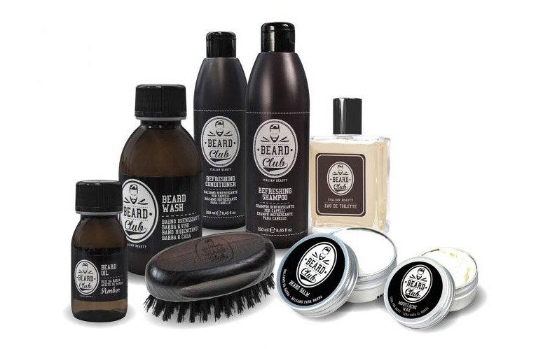 Beard Club Luxury Beard Gift Beauty B - darčekové balenie s kefou na bradu 7a81a954a6b