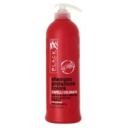 Black Colour Protection Shampoo - šampón na farbené vlasy, 500 ml