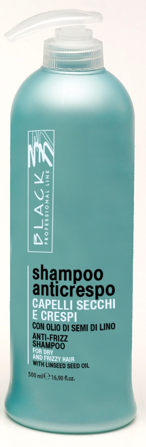 Black Anti-Frizz Shampoo  anticrespo 500 ml