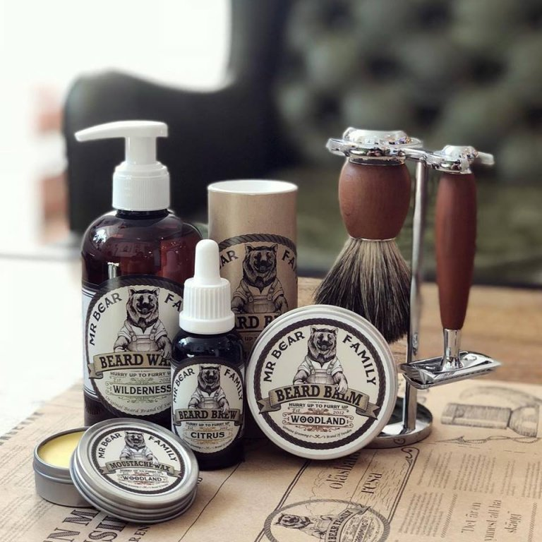 Mr. Bear Family Beard Balm - balzám na bradu b993133b2ee
