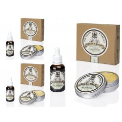 Mr. Bear Family Special Kit Brew and Balm - balzám na bradu, 60 ml + olej na bradu, 30 ml