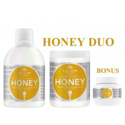 Kallos HONEY DUO - šampón + maska